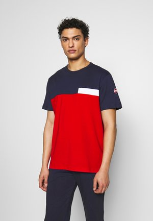 MENS SOLID COLOR - T-shirt imprimé - navy blue