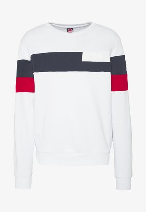 MENS - Sweatshirt - white/navy blue