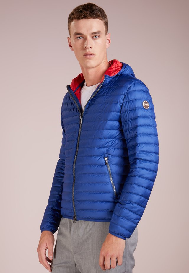 MENS JACKET - Down jacket - blue