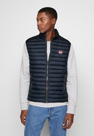 MENS VESTS - Liivi - navy blue/light stee