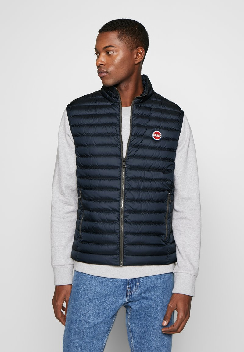 Colmar Originals - MENS VESTS - Veste sans manches - navy blue/light stee