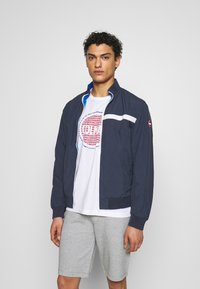 Colmar Originals - MENS REVERSIBLE - Summer jacket - JUPITER/NAVY BLUE - 3