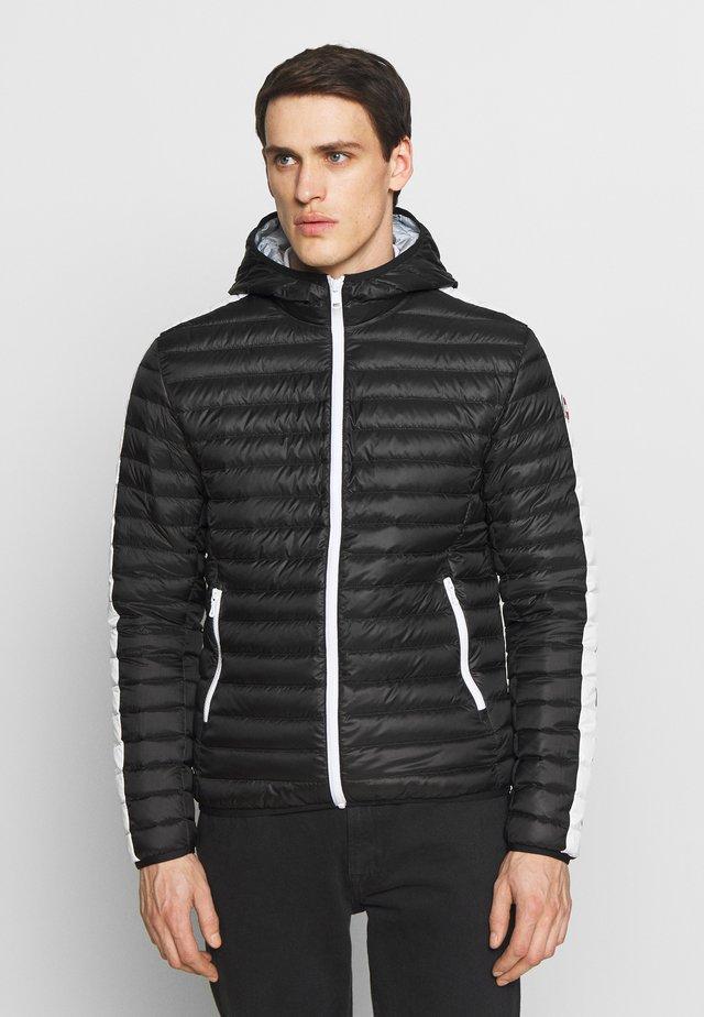 GIACCA - Down jacket - black/white