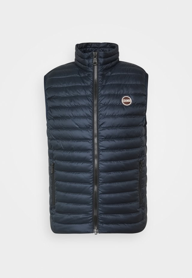 MENS DOWN VEST - Väst - navy blue