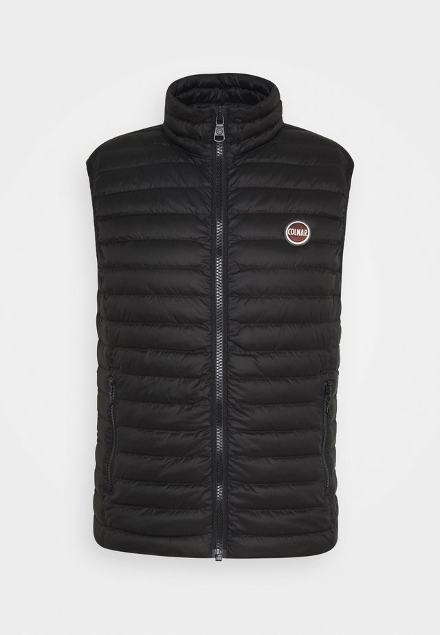 MENS DOWN VEST - Väst - black-spike
