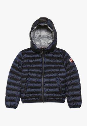 JACKET - Down jacket - navy blue/malberry