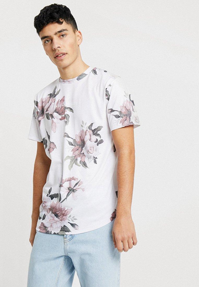 Criminal Damage - PLAZA TEE - Print T-shirt - pink/multi-coloured