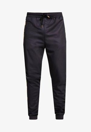 TRACK JOGGER - Teplákové kalhoty - black/gold