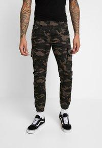 Criminal Damage - Cargo trousers - green - 0