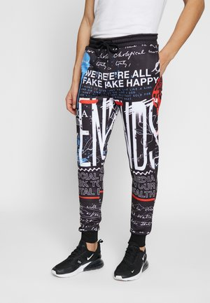GRAFFITI JOGGER - Trainingsbroek - black