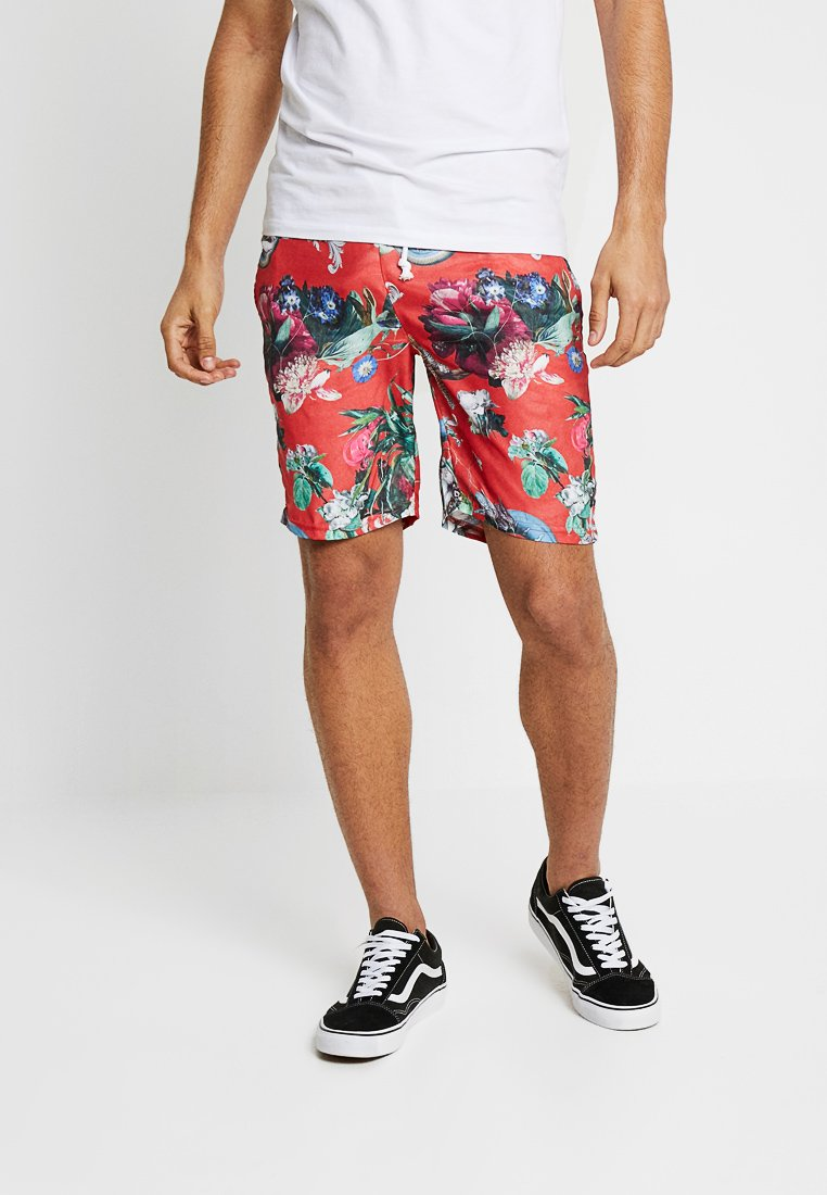 Criminal Damage - DOMINIC  - Shorts - red/multi