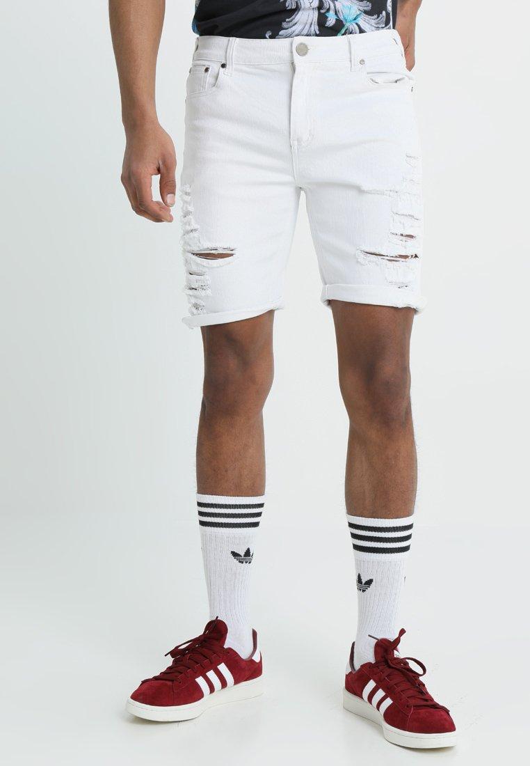 Criminal Damage - CAMDEN  - Short en jean - white