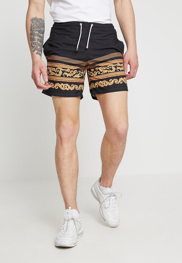 Criminal Damage - Shorts - black/gold