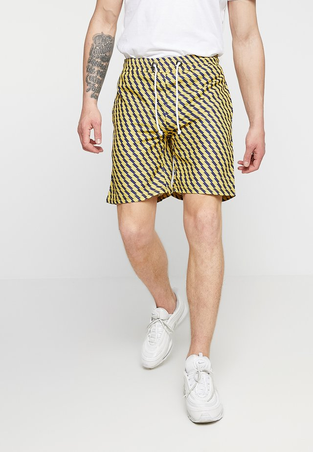 ZIZI - Shorts - yellow/black