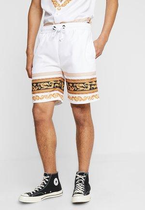 Pantalon de survêtement - white/multi-coloured