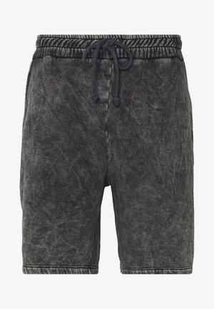 WAVE - Spodnie treningowe - washed black