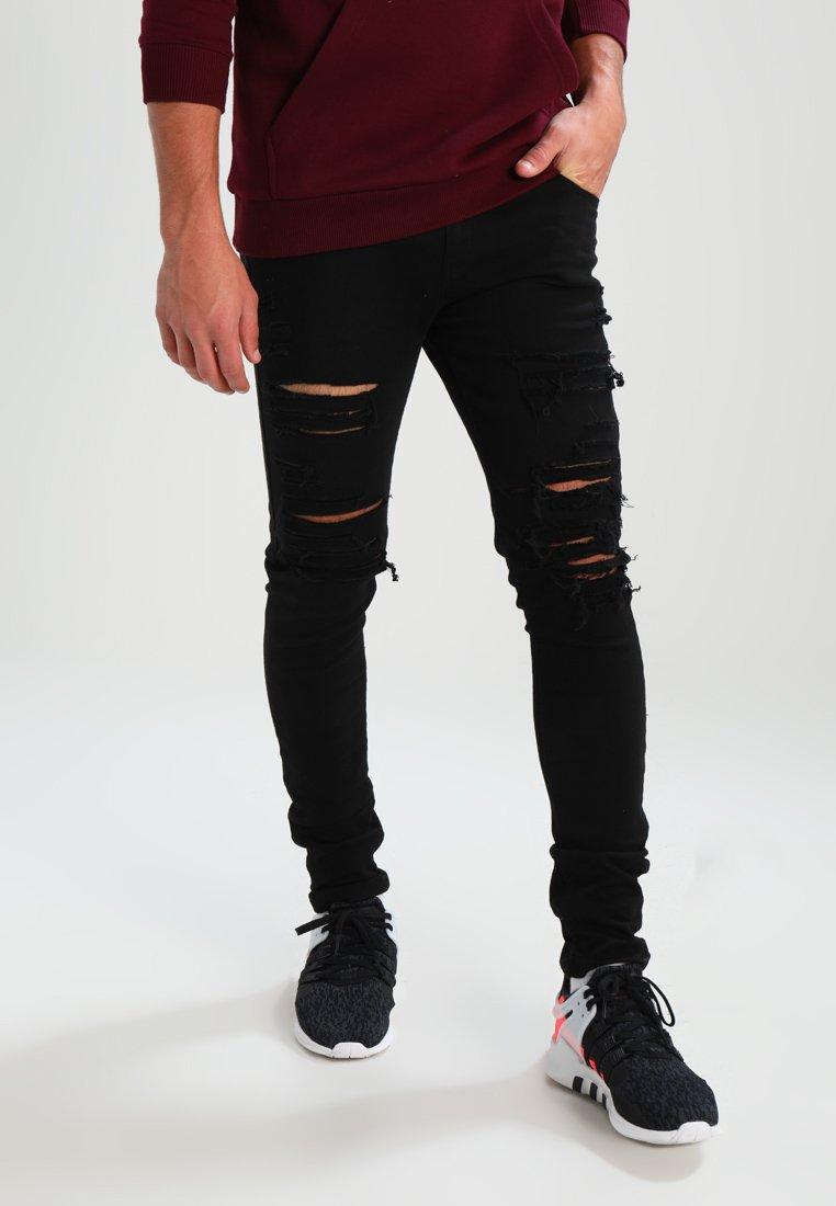 Criminal Damage - CAMDEN  - Jeans Skinny Fit - black