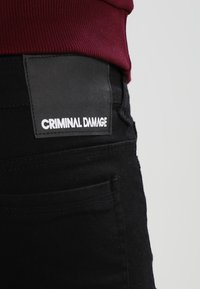 Criminal Damage - CAMDEN  - Skinny džíny - black - 4