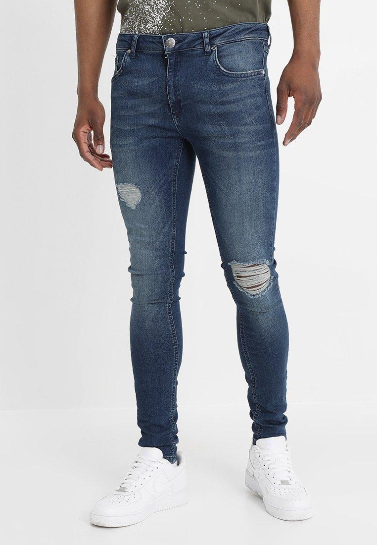 Criminal Damage - SPRAY - Jeans Skinny - medium blue