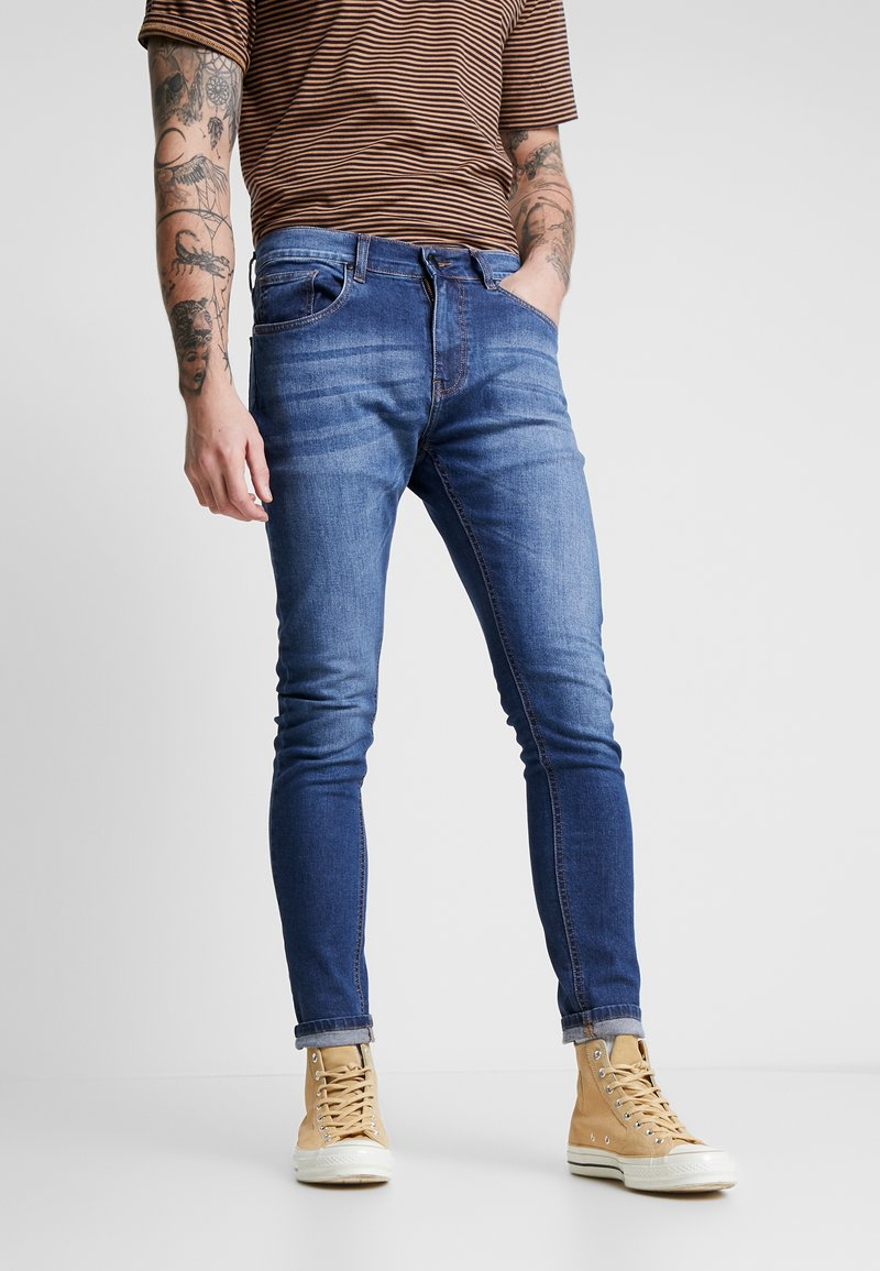 Criminal Damage - SKINNY  - Jeans Skinny Fit - mid wash