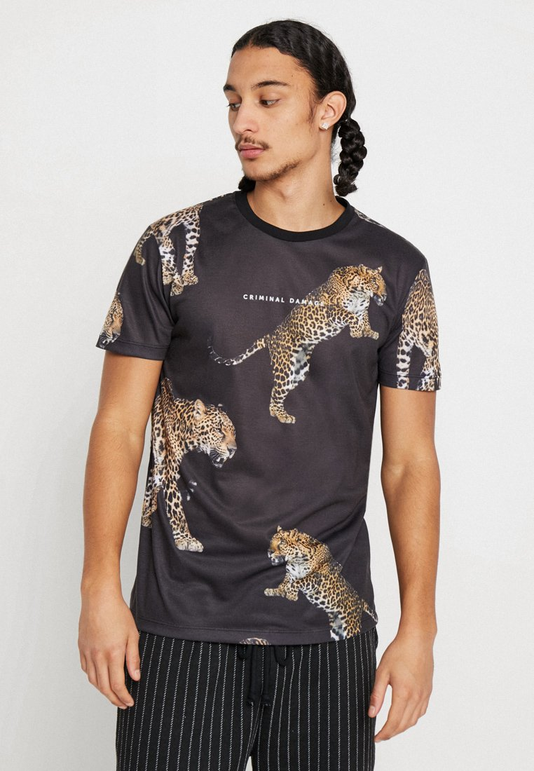 Criminal Damage - PACK TEE - T-Shirt print - black/multi-coloured