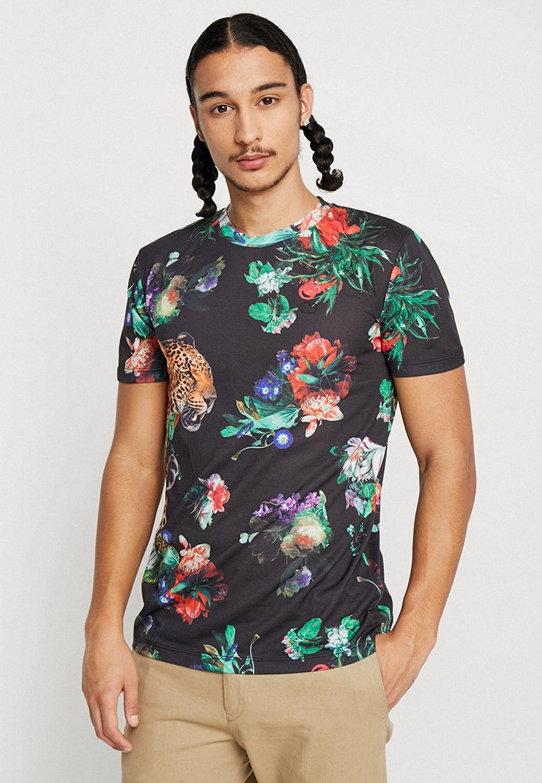 Criminal Damage - JAVAN TEE - T-Shirt print - black/multi
