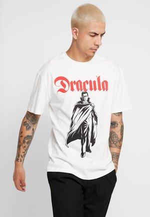 DRACULA  - T-Shirt print - off white