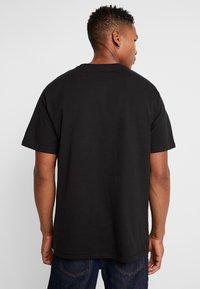 Criminal Damage - UTILITY POCKET TEE - T-Shirt basic - black - 2
