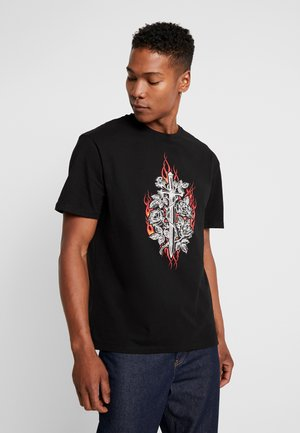 DAGGER TEE - T-Shirt print - black