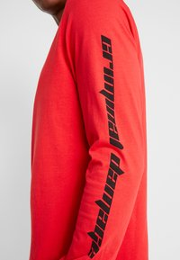 Criminal Damage - RACER TOP - Langarmshirt - red - 5