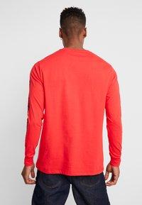 Criminal Damage - RACER TOP - Langarmshirt - red - 2