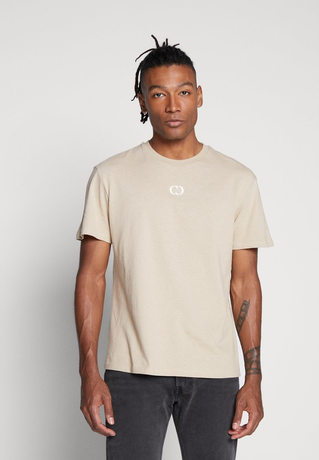 ESSENTIALS TEE - T-shirt - bas - beige