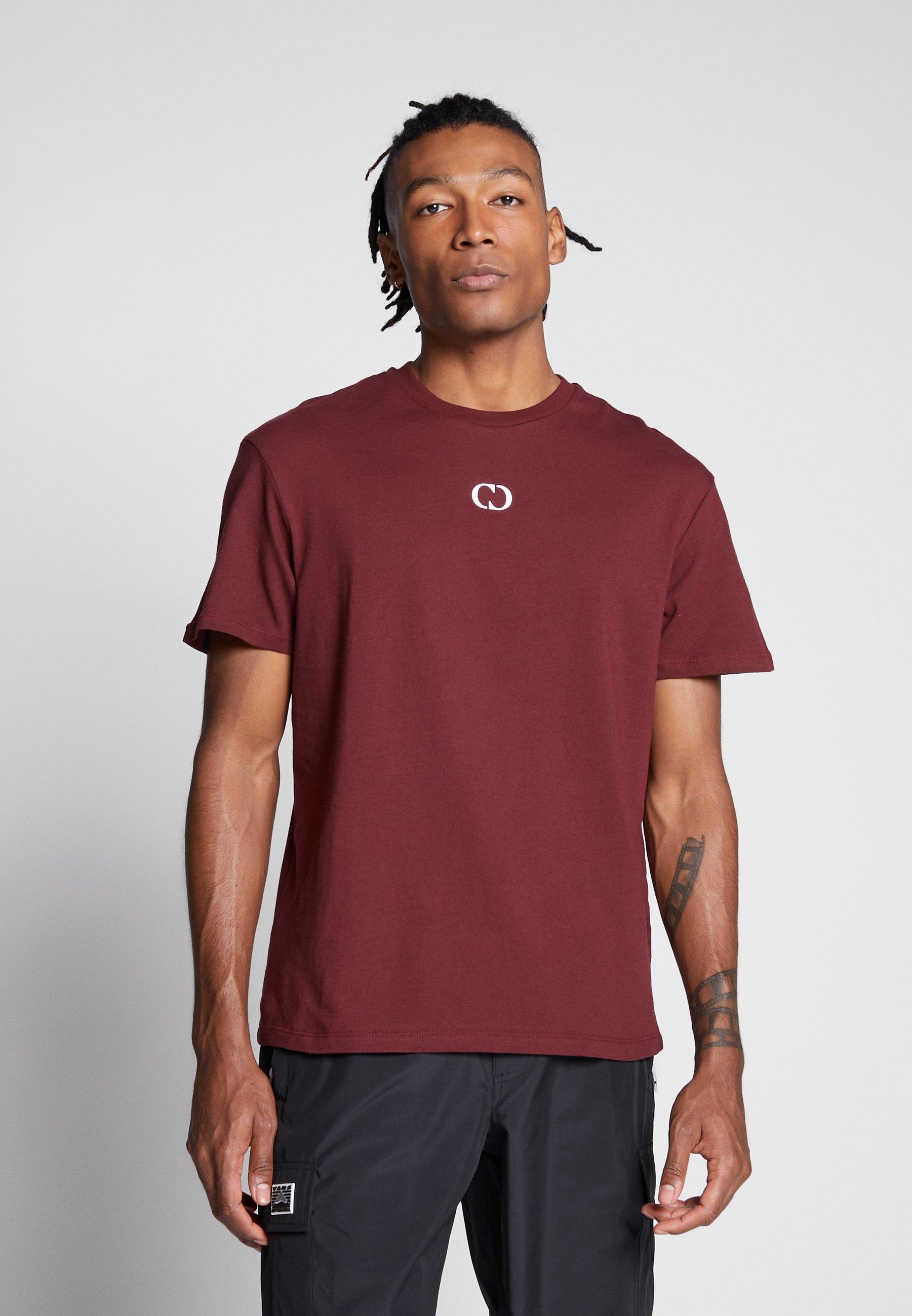 Criminal Damage ESSENTIALS TEE - T-shirt basic - burgundy