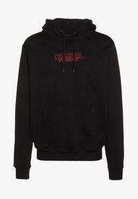 Criminal Damage - DRAGON HOOD - Jersey con capucha - black/multi - 4