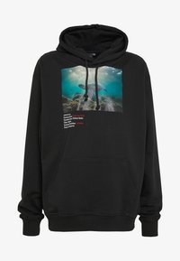 Criminal Damage - WORLD LAND TRUST TURTLE HOOD - Hoodie - black - 5