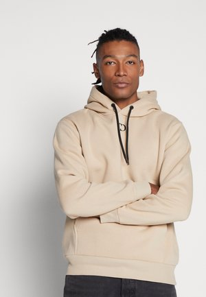 ESSENTIALS HOOD - Sweat à capuche - beige
