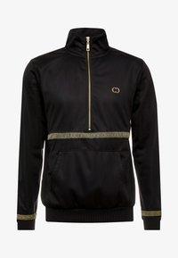 Criminal Damage - VERINO TRACK TOP - Sweatshirt - black/gold coloured - 3