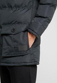 Criminal Damage - ARTIC PARKER JACKET - Zimní kabát - black reflective - 3