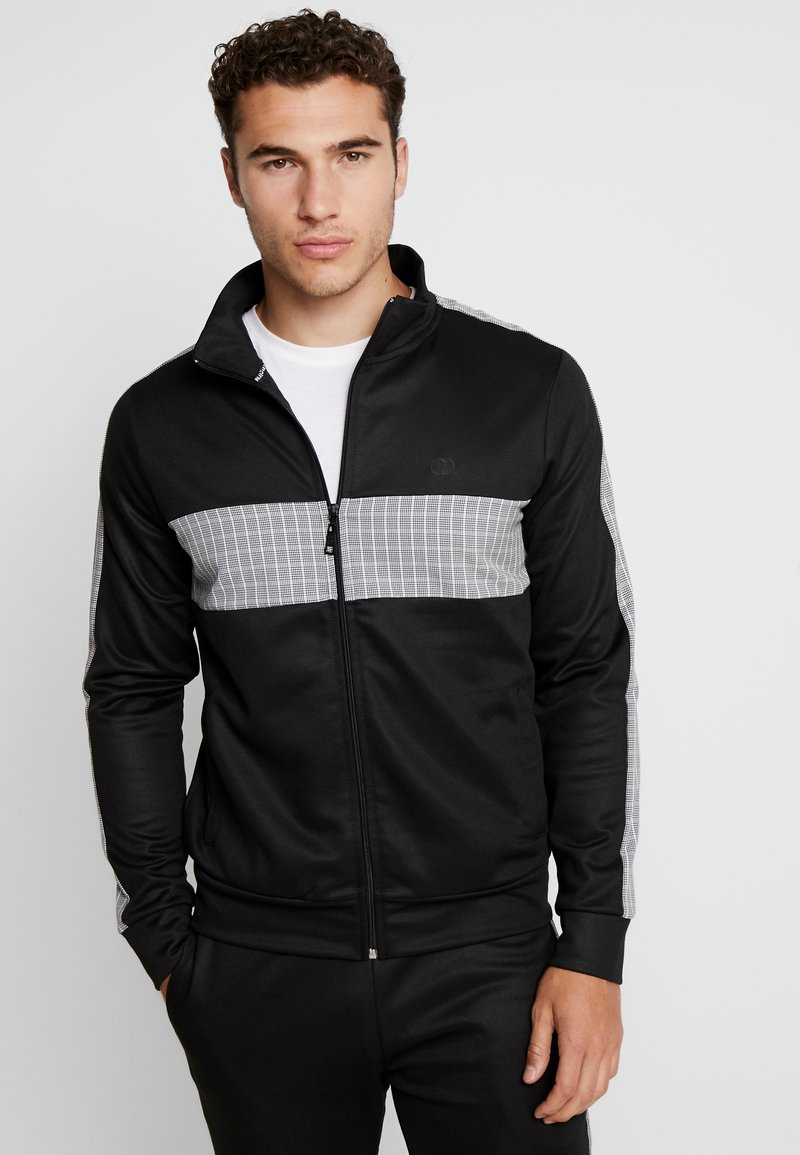 Criminal Damage - TRACK TOP - Training jacket - black/grey