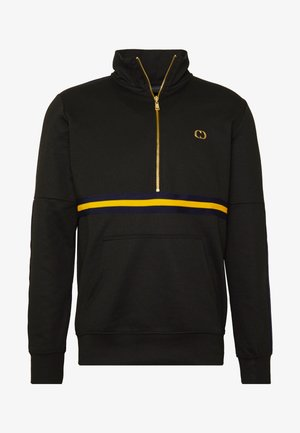 WISE PANEL - Sweater - black/yellow