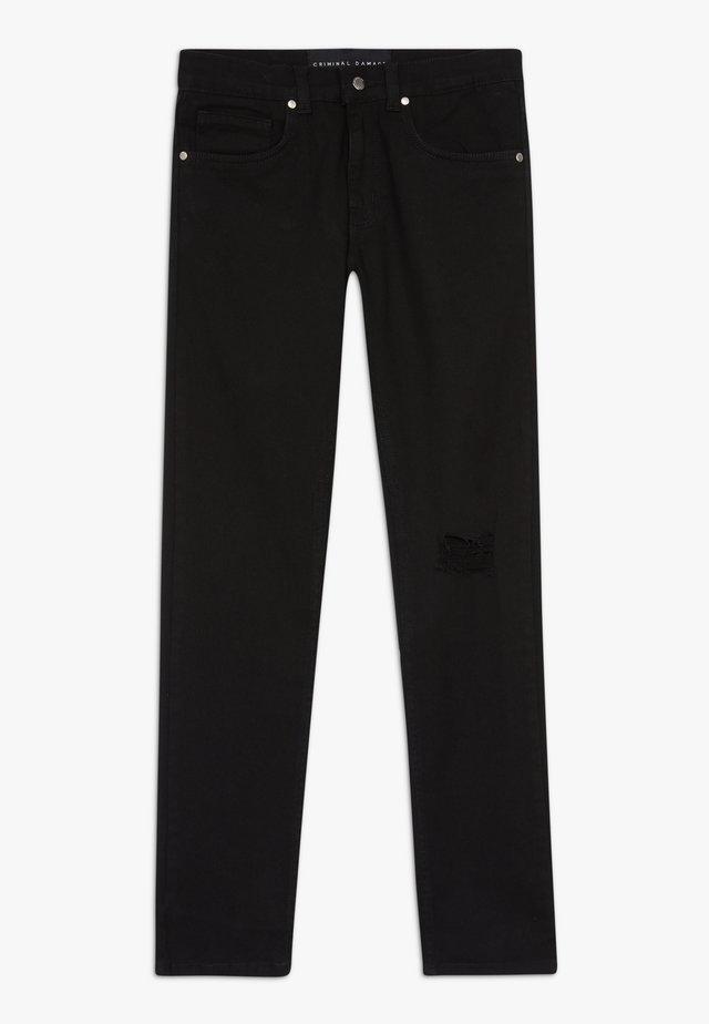 ESSENTIAL SKINNY  - Skinny džíny - black
