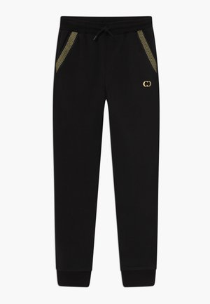 MILANO - Tracksuit bottoms - black/gold
