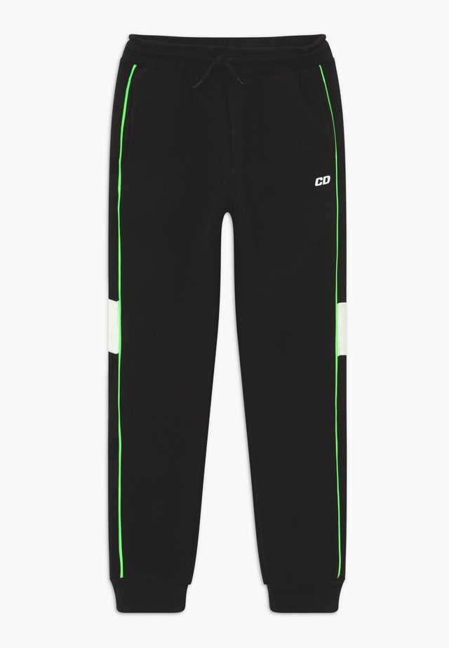 PANEL - Tracksuit bottoms - black
