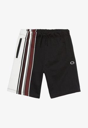 BRAN  - Teplákové kalhoty - black/multi