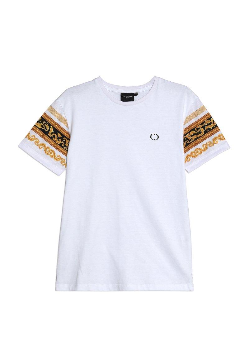 Criminal Damage - KIDS EATON TEE - T-Shirt print - white/multi
