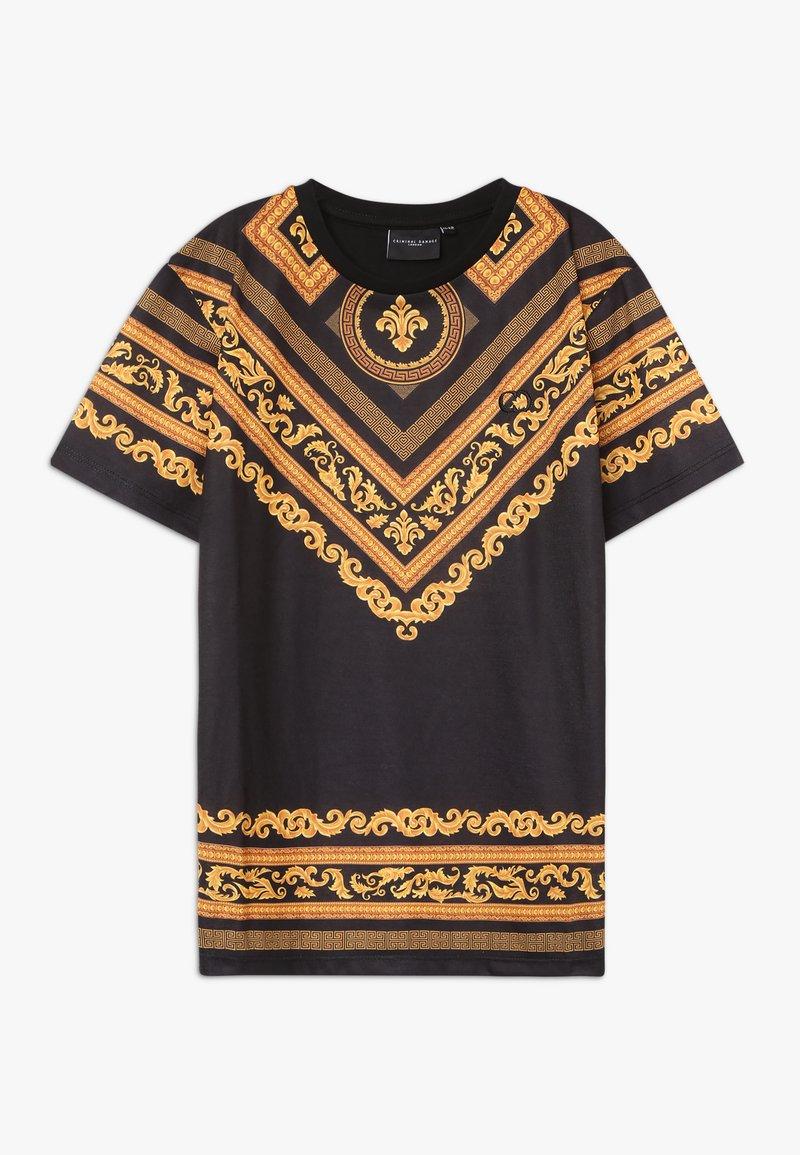 Criminal Damage - KIDS TEE - Print T-shirt - black