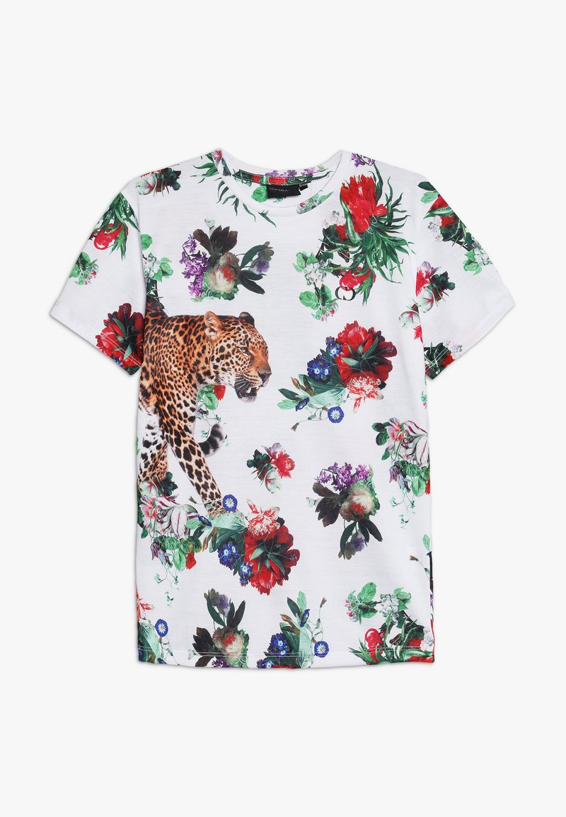 Criminal Damage - JAVAN TEE - Print T-shirt - white/multicolor
