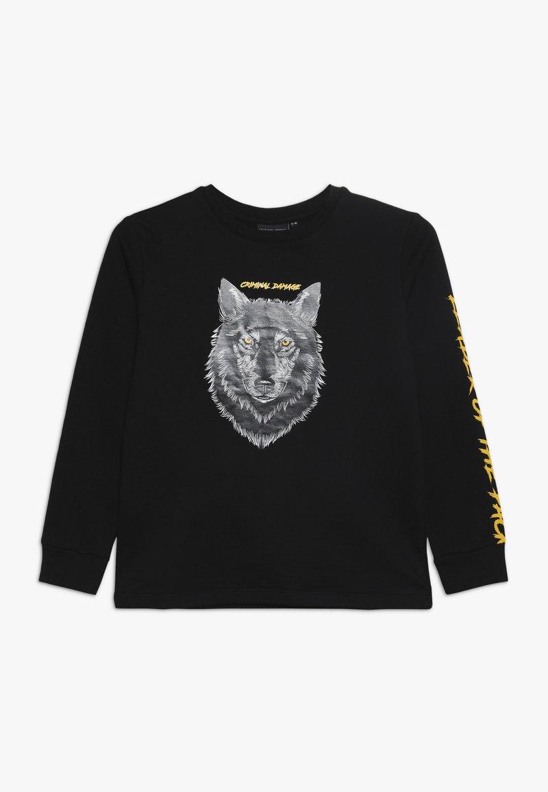 Criminal Damage - GHOST  - Sweatshirt - black/multi