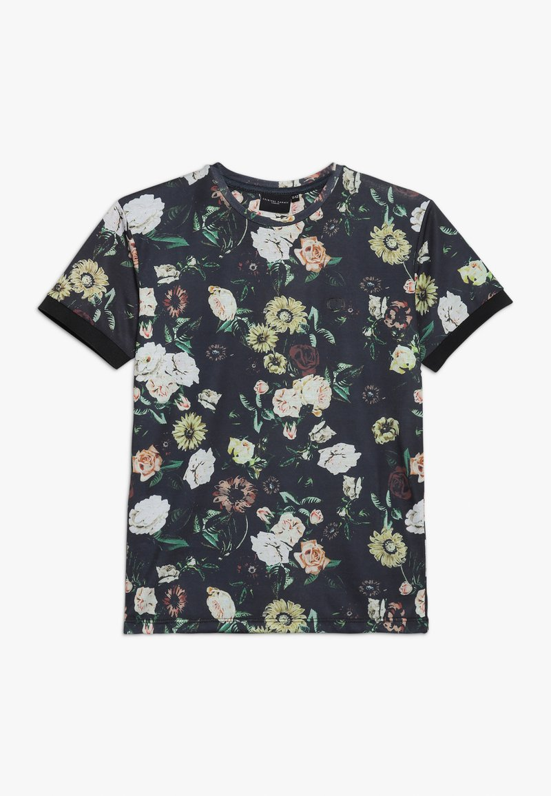Criminal Damage - DANTE TEE - T-shirt med print - black/multi