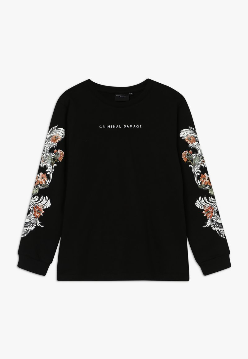 Criminal Damage - MICKEY - Long sleeved top - black/multi